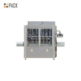 Fully Automatic Cosmetic Cream Filling Line / Gel Filling Capping Machine