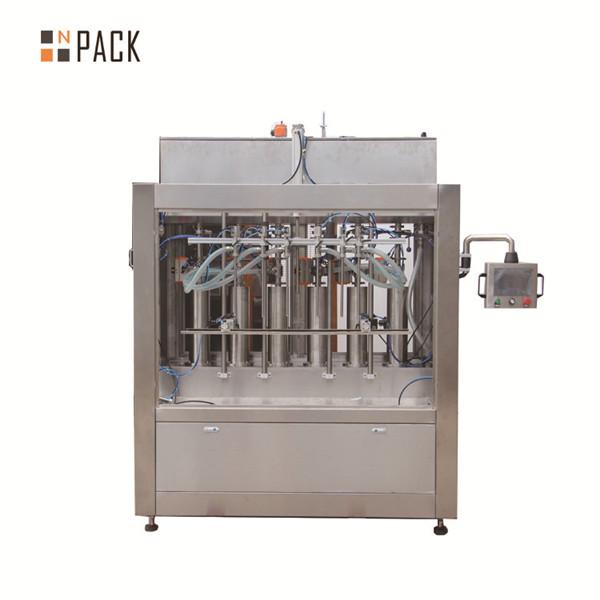 Pneumatic Cream Paste Liquid Filling Machine for Bottle Filling