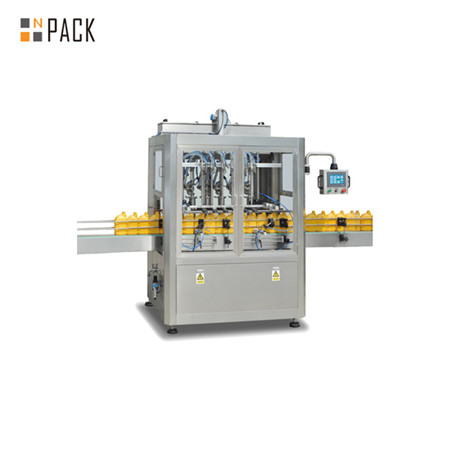 Automatic Honey Shampoo Detergent Cosmetic Filling Bottling Capping Packing Machine