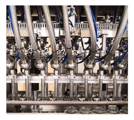 Servo Motor Driven Full Automatic Pneumatic Piston Shower Gel Filler