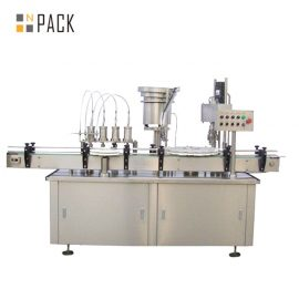 Spray Perfume Vial Liquid Filling Machine Automatic Bottle Filling Equipment Durable