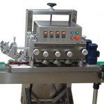 One Heads Bottle Capping Machine / ROPP Aluminum Screw Cap Crimping Machine