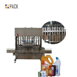Multifunctional Glass Cleaner Liquid Soap Filling Machine Automatic Liquid Filling Line