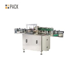Automatic Glass Bottle Labeling Machine / Wet Glue Labeling Machine For Paper Label