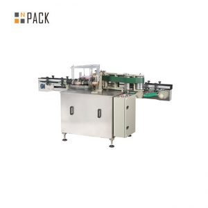 Automatic Glass Bottle Labeling Machine / Wet Glue Labeling Machine For Paper Label