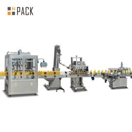 Liquid Soap Bottle Filling Line Automatic Shampoo Filling Machine Stable Operation